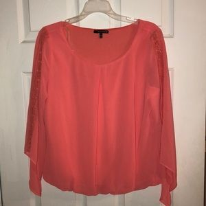 Heart soul hot pink blouse only worn once!